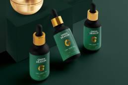 Branding Design Packaging Design Green Dragon CBD