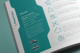 Electric Car Brochure Design