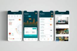 Smart Home App UI Design
